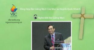 Tong hop bai giang cua Muc su Huynh Quoc Khanh